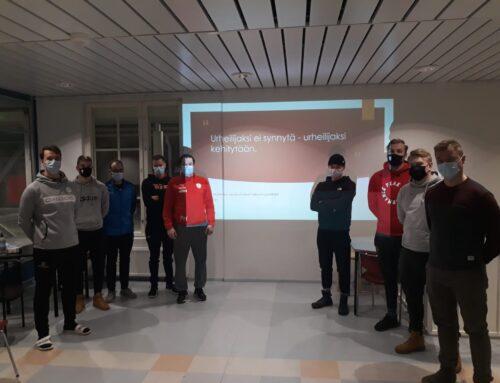 Santa´s Unitedin Taito- ja Fysiikkavalmennuskoulutus järjestettiin 25.1.2021
